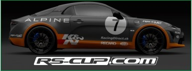 RS-CUP.com - Sticker decal tee shirt polo bag jacket Alpine and Renault Sport